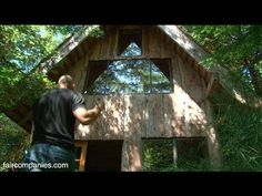 This Amazing Forest House Was Built For Just $11,000 With Locally Found Materials!