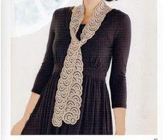 Loza: crochet scarves