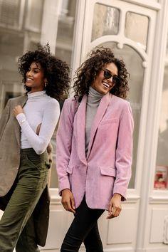 Street style na tygodniu mody w Paryżu Classy Outfits, Stylish Outfits, Fall Outfits, Cute Outfits, Friends Fashion, Colourful Outfits, Fashion Books, Autumn Winter Fashion, Autumn Style