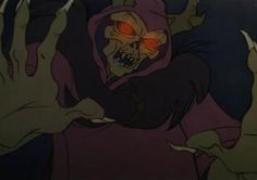 The Horned King from The Black Cauldron. Was I the only one who had my childhood scarred by this guy?