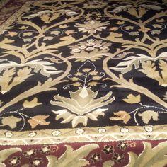 Nejad Rugs Design T017 Black/Burgundy www.nejad.com