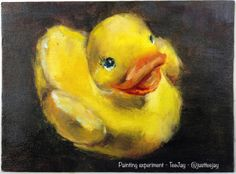 Rubber Duck paintings - by Tee Jay