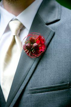 red-winter-wedding-boutonniere