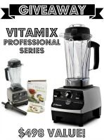 Giveaway: Vitamix Professional Series Blender – $498 Value | The Coconut Mama