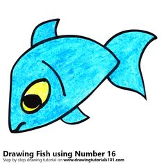 Fish using Number 16
