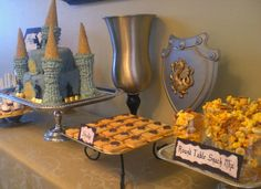 Knights Themed Party! I would combine it with a Princess Thened Party and I would have 2 in 1: a party that both boys and girls will love!