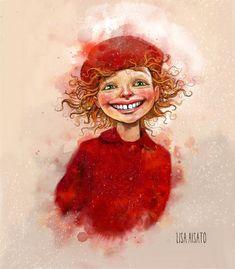 Очень помогает! Художник - иллюстратор Lisa Aisato. Обсуждение на LiveInternet - Российский Сервис Онлайн-Дневников Minimal Poster, Female Pictures, Red Art, Painted Rocks, Cover Art, Illustrators, Folk Art, Art For Kids, Fantasy Art