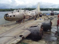 swamp ghost b 17 4 3 Remarkably Intact B 17 Bomber Wrecks Discovered in Papua New Guinea