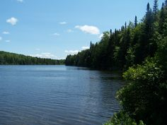 This is Osmore Pond located at the base of Owl Head Mountain at the New Discovery VT State Park in Marshfield.