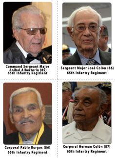 The Borinqueneers All Puerto Rican Infantry President Barack Obama Signs H 1726 To Awarded A Congressional Gold Medal Men In Regiment