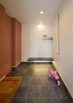 CASE403 オリーブグリーンな家 Olive Green, Tile Floor, Flooring, Home Decor, Decoration Home, Room Decor, Tile Flooring, Wood Flooring, Home Interior Design