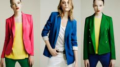 Blazer jackets are an important piece of clothing for men and they are often used as clothes that women prefer. Piece Of Clothing, Cool Outfits, Peplum, Zara, Skinny, Chic, Sweaters, How To Wear, Jackets