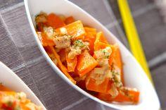 ニンジンとツナの洋風炒め 色鮮やかでお弁当にいいかも。