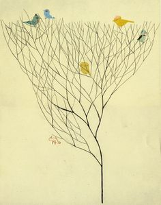 Birds in trees#iphone wallpaper