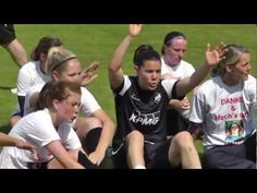 Goalkeeper Ursula Holl (SG Essen-Schönebeck) about her final soccer match (in German) - powered by www.framba.de