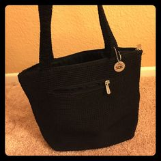The Sak tote bag Simple, Classic and Chic! In mint condition... One of the original Sak bags! Small white stain on inside. See pics. Very minimal.  Classic Sake tote bag! The Sak Bags Totes
