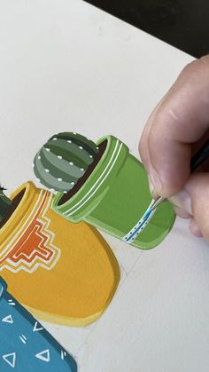 Barrel Cacti Gouache Painting by Philip Boelter Barrel Cacti Gouache Painting by Philip Boelter Xandra Games xlxxgames Zeichnen Gouache painting is my favorite This is the fourth nbsp hellip Plant Painting, Flower Art Painting, Amazing Art Painting, Art Painting Acrylic, Gouache Art, Painting Art Projects, Gouache, Gouache Painting, Diy Canvas Art