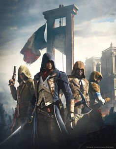 ArtStation - Assassin's Creed Unity - Artwork01, Hugo Deschamps