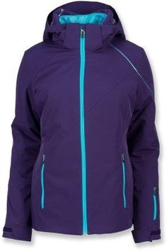 f6d6b86689a4d5 The Spyder Menage A Trois insulated jacket offers cozy