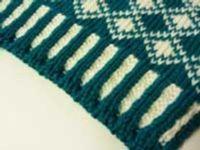 Corrugated Rib on the Machine Tutorial For Machine - Double Bed | Machine Knitting Tutorial