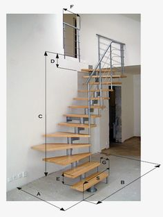 This is also true for that basement stairs. Home Stairs Design, Home Building Design, Interior Stairs, Home Room Design, Tiny House Stairs, Stairs In Living Room, Door Gate Design, Building Stairs, Stairs Architecture