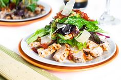 Food Figure - Health and Happiness Through Diet and Nutrition - Recipes - Chicken Caesar Salad