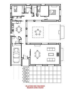 Maison Avec Patio Central