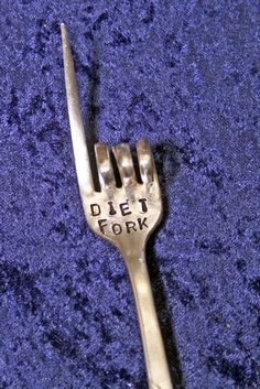 Diet Fork | This is hilarious! | White Elephant gift idea?!