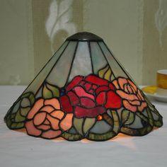 Rose Tiffany Lamps  12S0-163