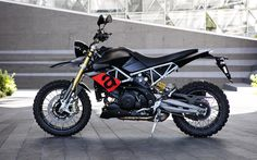 LWDC project lightweight based on Aprilia Dorsoduro 1200 in a scrambler / enduro style Motocicleta Ducati Hypermotard, Motorcycle Wallpaper, Sportbikes, Courses, Cars And Motorcycles, Motorbikes, Automobile, Cafe Racers, Trail