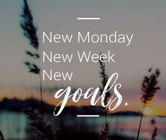 Go crush your goals and set the tone for the week!