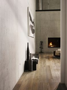 Like the floor and concrete wall (albeit too much concrete).