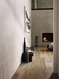 Suelos de parquet Bauwerk Parquet #fireplace #parquet