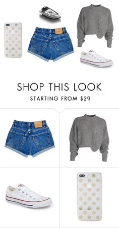 """Bez tytułu #141"" by maryb96 on Polyvore featuring moda, Converse i Kate Spade"