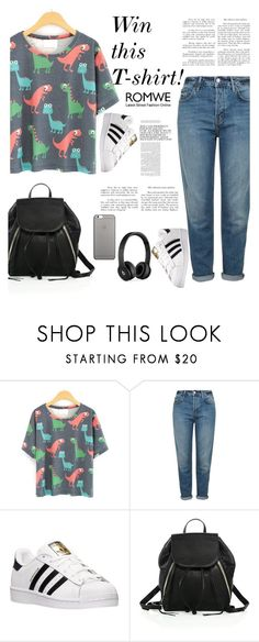 """Win this"" by mell-2405 ❤ liked on Polyvore featuring Topshop, adidas, Rebecca Minkoff, Native Union and Beats by Dr. Dre"