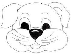 mascaras de animais para imprimir e recortar - Pesquisa Google