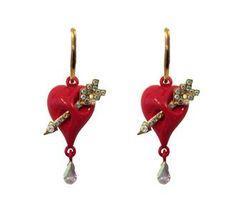 Arrowed-Heart-Earrings