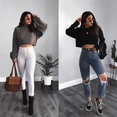 Teen Fashion : Sensible Advice To Becoming More Fashionable Right Now – Designer Fashion Tips Boujee Outfits, Tumblr Outfits, Winter Fashion Outfits, Cute Casual Outfits, Grunge Outfits, Stylish Outfits, Teenager Outfits, Aesthetic Clothes, Ootd