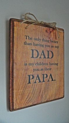 Gift for Father Grandpa Dad Papa for by AnnabelleEveDesigns
