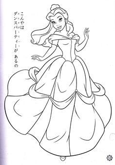 princess belle coloring pages blog coloring books princesses