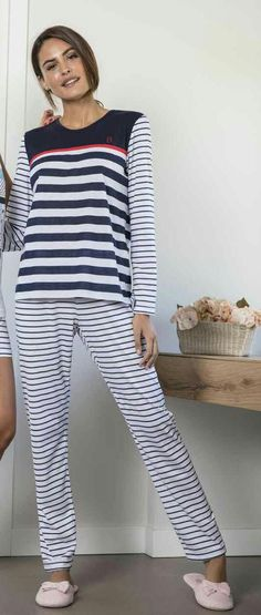 319290e90c 18V-0125-10 50% Algodón 50% Poliéster Pijama mujer verano