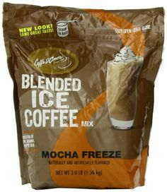 Frappe Freeze Ice Blended Coffee, Mocha, 3-Pound | Bottled & Canned Coffee Beverages | All for COFFEE, TEA & ESPRESSO - the best place to buy coffee online!