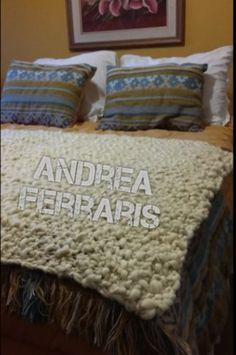 Mantas y pie de cama tejidos dos agujas en lana Merino, manta lana dos agujas, knitting, bedroom