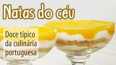 Natas do Céu, Doce Típico Português - YouTube
