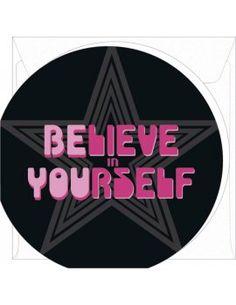 "Mini-Carte ""Believe in Yourself"""