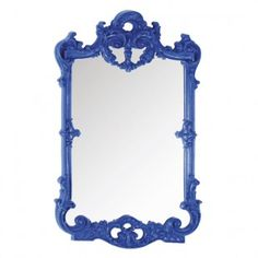 Blue Lauderdale Mirror