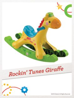 Music, dancing lights and fun phrases encourage baby to keep rockin'. For a chance to win, click here:http://fpfami.ly/01497 #FisherPrice #Toys