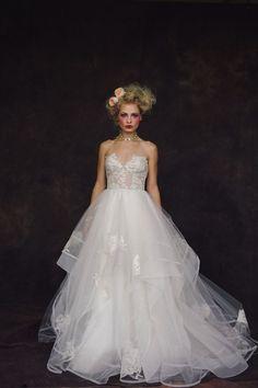 Surrealist Inspired Retro Circus Wedding Inspiration ~ Andras Schram Photography ~ Calgary Bride #GothicWedding #VintageWedding #InspiredWedding
