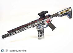 Blowndeadline cerakote Star Wars AR 15