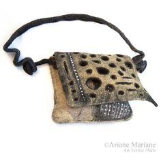 Wearable art women handbagexclusiv designer ♡ by ArianeMariane